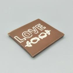 Smally-Herzlichen Dank | 巧克力与消息 | 1/2 瑞士莲巧克力棒酒吧 | 巧克力礼品 | 较小的场合