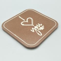 Designy - I love you|巧克力与消息|1/2 瑞士莲巧克力棒酒吧 | 巧克力礼品 | 入场