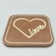 Designy - I love you 巧克力与消息 1/2 瑞士莲巧克力棒酒吧   巧克力礼品   入场