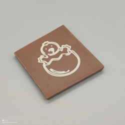 "Smally -  chocolate with message ""herzlichen Dank"" 