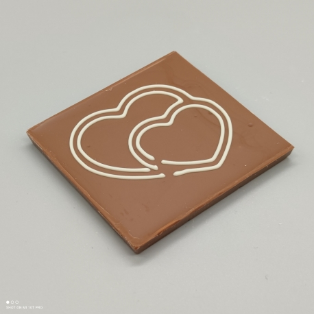 Smally - Herzlichen Dank  Schokolade mit Nachricht   1/2 Lindt-Tafel   Schokoladengeschenk   kleinere Anlässe