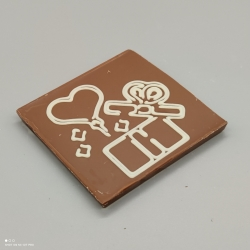 Smally -  Herzlichen Dank | chocolate with message | 1/2 Lindt bar | chocolate gift | smaller occasions