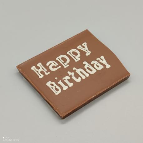 """Smally - Schoggi Design """"Gift""""  Schokolade mit Nachricht   1/2 Lindt-Tafel   Schokoladengeschenk   kleinere Anlässe"""
