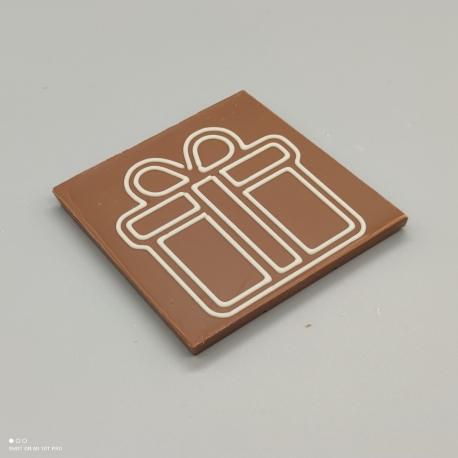 """Smally - Schoggi Design """" Geschenk""""  Schokolade mit Nachricht   1/2 Lindt-Tafel   Schokoladengeschenk   kleinere Anlässe"""