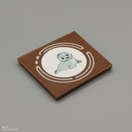 Grafly - Schokoladen Grafik| 1/2 Lindt-Tafel | Schokoladengeschenk | spezielle Momente