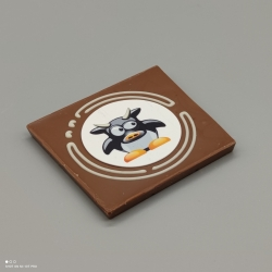 Grafly -  chocolate graphic | 1/2 Lindt bar | chocolate gift | special moments