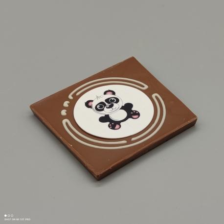 """Grafly - Schokolade mit Nachricht """"herzlichen Dank""""  1/2 Lindt-Tafel   Schokoladengeschenk   spezielle Momente"""