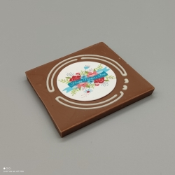 Grafly -  chocolate graphic | 1/2 Lindt bar | chocolate gift | mothersday