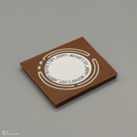 Grafly - Schokoladen Grafik| 1/2 Lindt-Tafel | Schokoladengeschenk | Muttertag