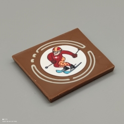 Grafly - chocolate graphic | 1/2 Lindt bar | chocolate gift | souvenir