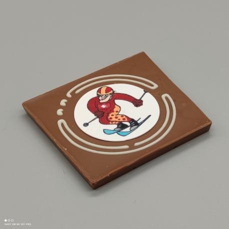 Grafly - Schokoladen Grafik  1/2 Lindt-Tafel   Schokoladengeschenk   Souvenir