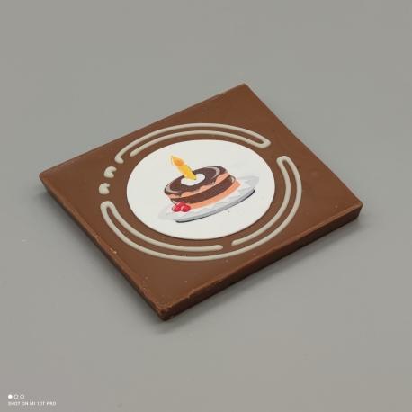 Grafly - chocolate graphic   1/2 Lindt bar   chocolate gift   birthday