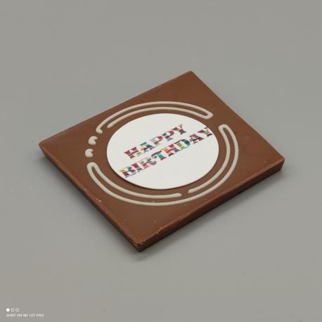 Grafly - chocolate graphic | 1/2 Lindt bar | chocolate gift | birthday