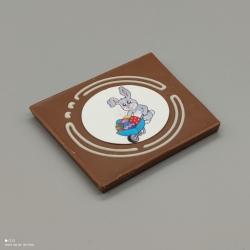 Grafly - Schokoladen Grafik| 1/2 Lindt-Tafel | Schokoladengeschenk | Ostern