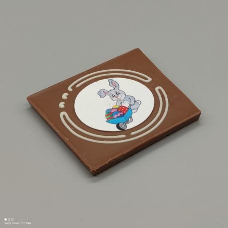 Grafly - Schokoladen Grafik  1/2 Lindt-Tafel   Schokoladengeschenk   Ostern