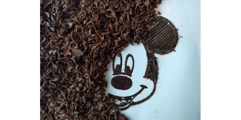 Chocolate Micky Mouse